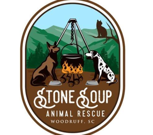 Logo of Stone Soup Animal Rescue in South Carolina.