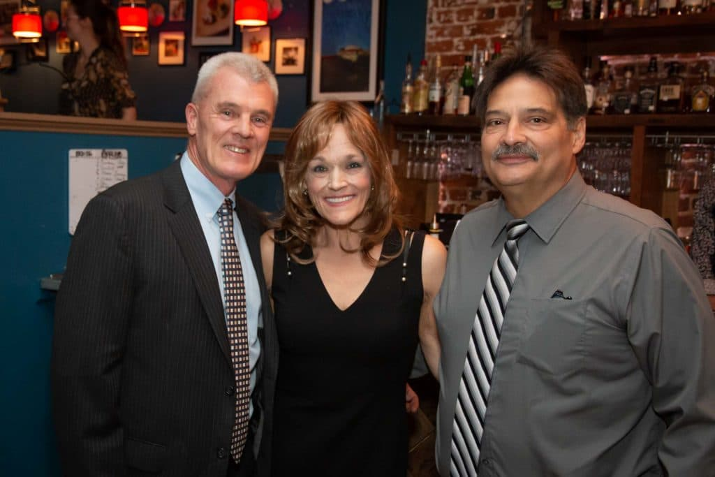 """Randy Rantz, Marie Poole and William """"Billy"""" Poole at the Best of the Best Dinner"""
