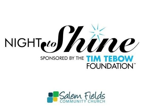 The Night to Shine event's logo