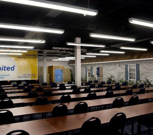 Hilldrup's Training Room at our Corporate Headquarters