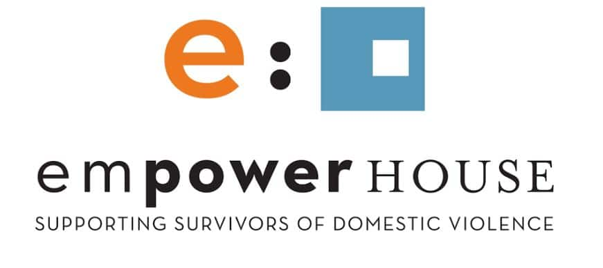 Empowerhouse's logo - a non-profit that supports survivors of domestic abuse.