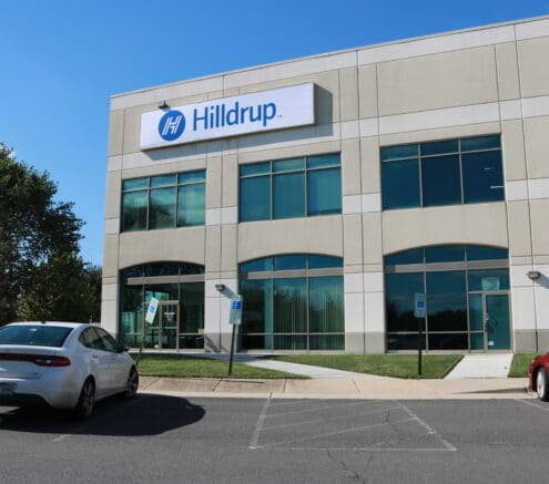 Hilldrup's Dulles office in Sterling, VA