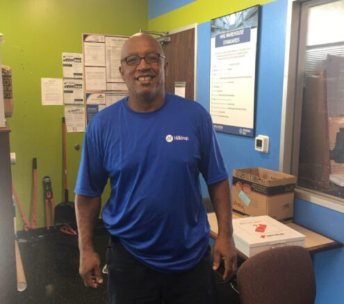 Mike Ingram - United Van Operator of the Month for August 2020
