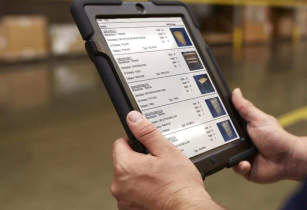 Hilldrup's technology used at our warehouses.
