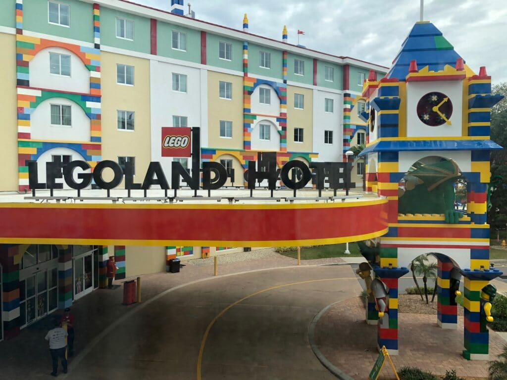 Legoland Hotel located in Florida is a fun attraction and lodging option for families.