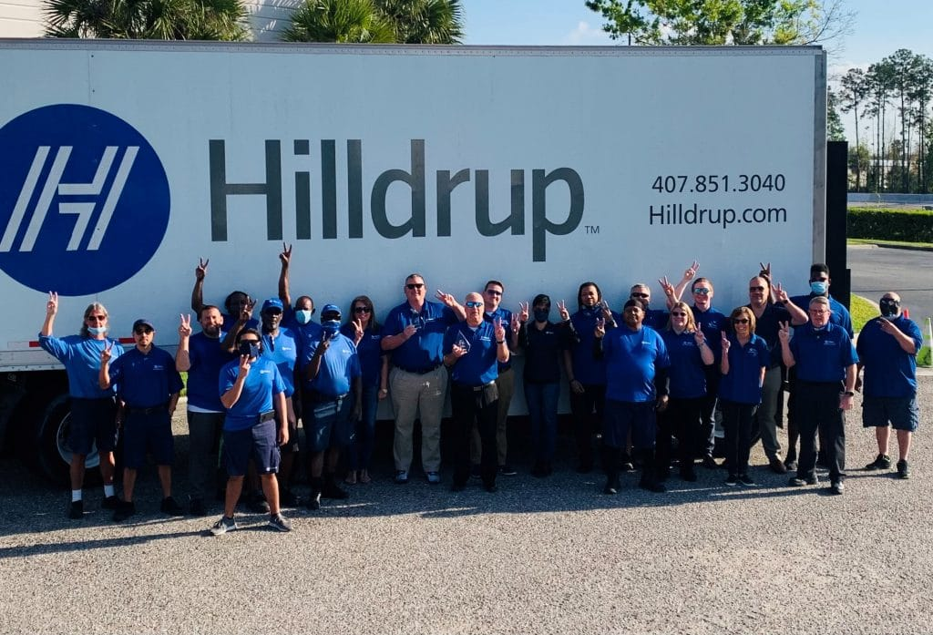 Hilldrup's 2020 Branch of the Year - Orlando