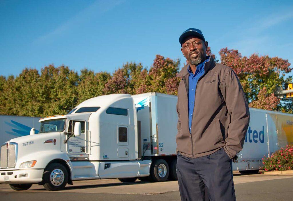 Olu Osinowo is United's 2020 Van Operator of the Year for the East.