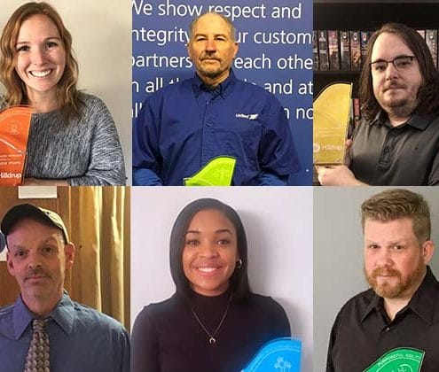 Hilldrup's 2020 Value of the Year Award winners