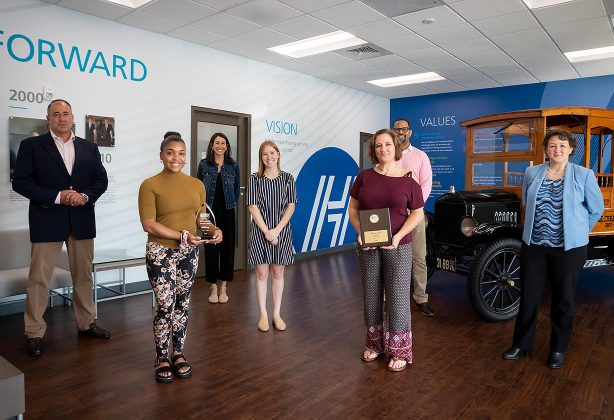 Hilldrup is recognized by RUW for our annual campaign success.