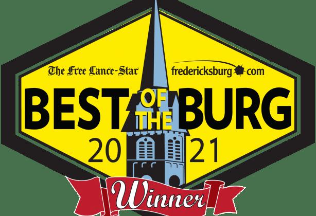 Fredericksburg's Best of the Burg 2021 logo