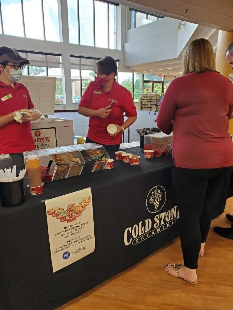 Cold Stone Creamery serves up ice cream at UniGroup's headquarters.