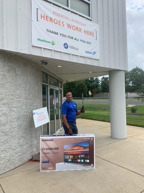 Gregory Spencer, Van Operator from Capitol Heights, during Van Operator Appreciation Week